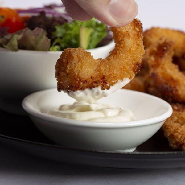 Pre Fried Breaded Shrimp